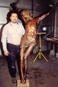 Iowa sculptor Paul Alguesva II is among the artists who will be displaying their work at the Art of Faith Show and Sale March 5-5 at St. Pius X Parish's Farrell Hall in Rock Island. (Provided photo)
