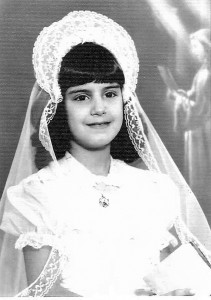 Rose was the second person to wear the dress at her First Communion in October 1966. (Provided photo)