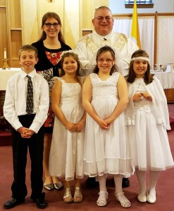 24 Bushnell First Communion