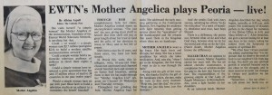 The story on the front page of The Catholic Post on March 31, 1985.
