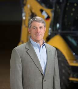 """""""Everyone is going to get a curveball at some point in life. My message is if you can have great balance in your life, you can hit that curveball,"""" says Ed Rapp, group president of the Resource Industries Group at Caterpillar Inc. (Provided photo)"""