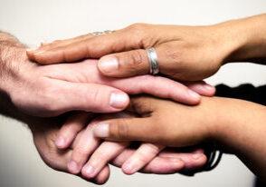 11 caregiver hands