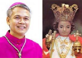 Bishop David William V. Antonio, apostolic administrator of San Jose, Occidental Mindoro, Philippines, will concelebrate Mass for the Peoria-area Filipino community at St. Joseph Church in Peoria on July 22. The Mass will also include a procession and blessing of Santo Nino icons, such as the one pictured at right.